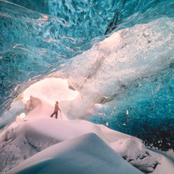 Iceland Ice Cave Landscape Photography