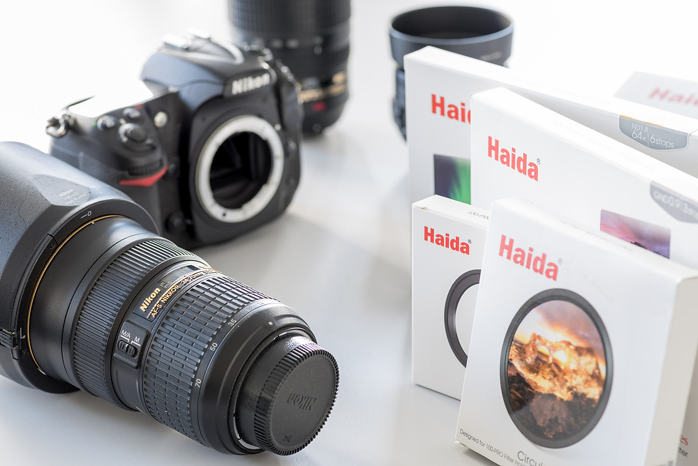 Haida filters with Nikon camera and 24-70mm lens