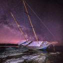 Spiaggia delle Saline, Calasetta (Sant Antioco), wrecked ship, milky way, astrophotography, nigth photo, sardinia.jpg