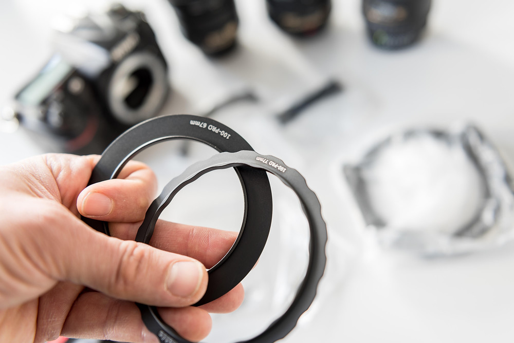 Haida 100-Pro Series 67mm and 77mm adapters rings