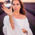 Provence Valensole France Lavender Fields Portrait Beauty Photo Session Crystal Ball_Raffaele Cabras.jpg