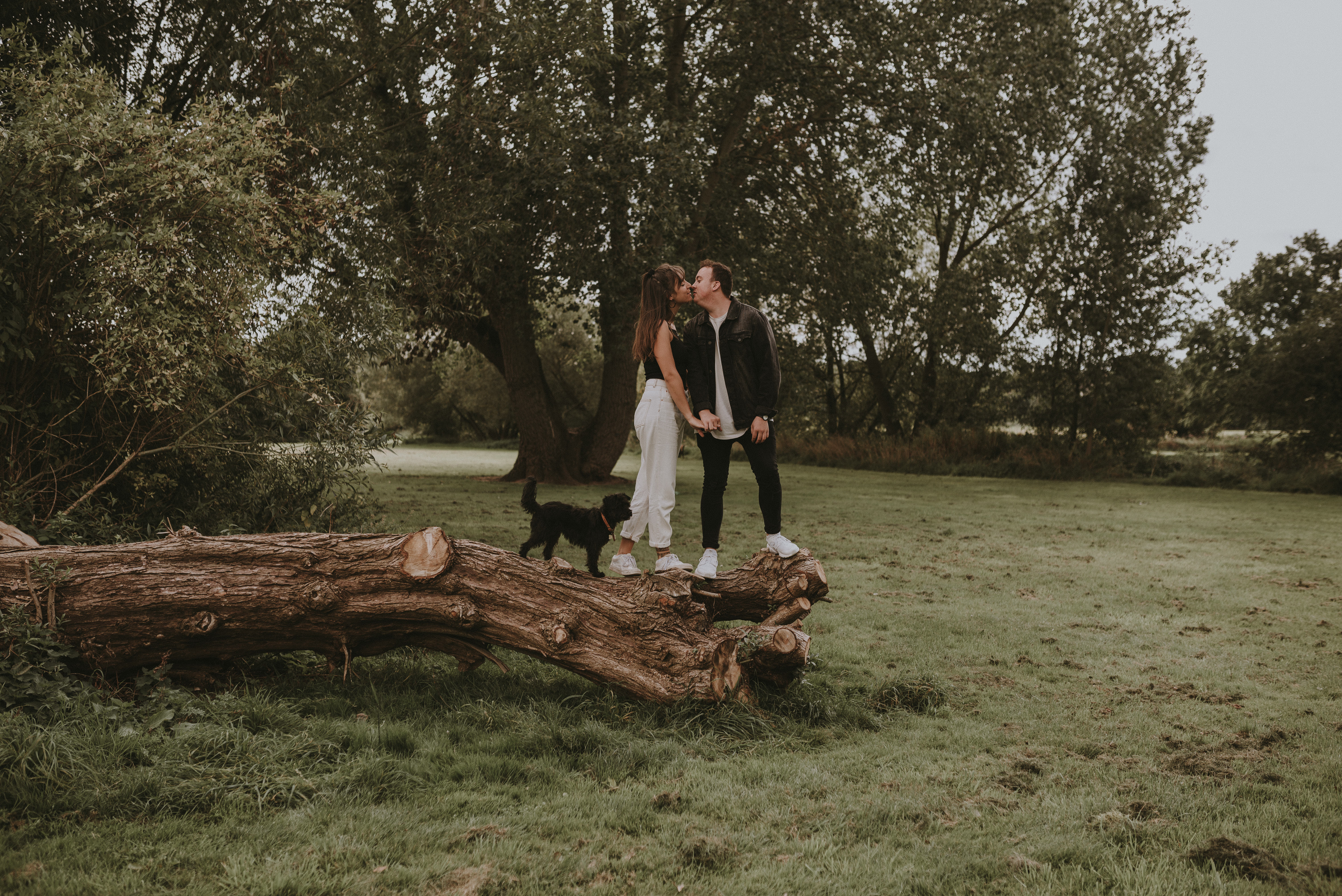 UK woodland elopement