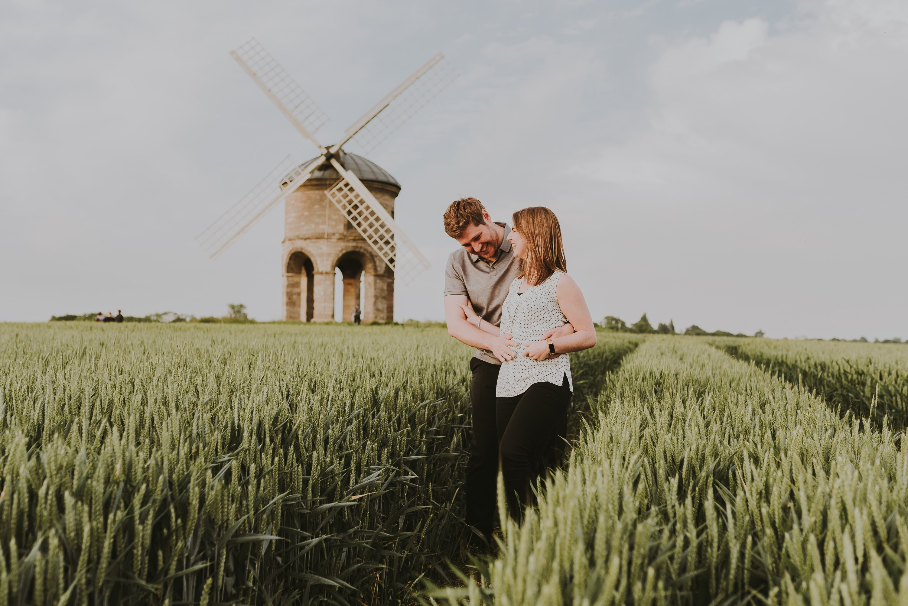 Chesterton Windmill photoshoot