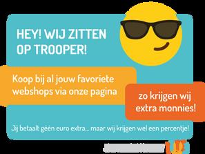 Steun G-lymnastiek vzw via Trooper
