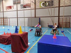 Groep rolstoelgym wordt groter!