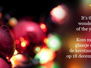 G-lymnastiek vzw op de kerstmarkt in Laarne