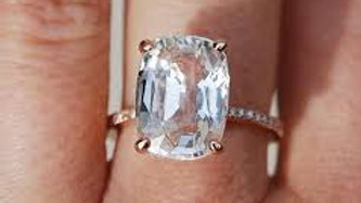 White Sapphire (Safed Pukhraj)