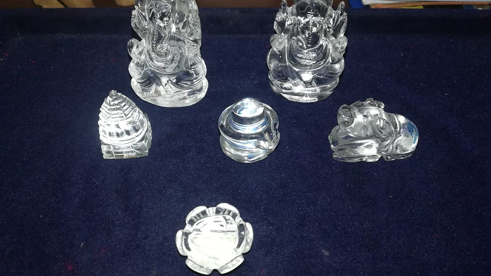 Crystal Statues