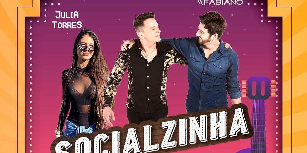 SOCIALZINHA c/ Leonardo de Freitas & Fabiano - Júlia Torres - Guif