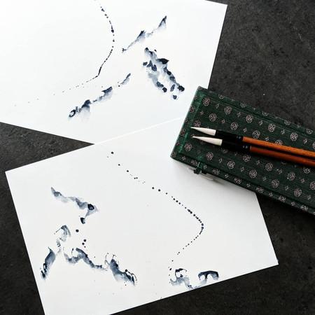 Abstract Minimal Watercolour