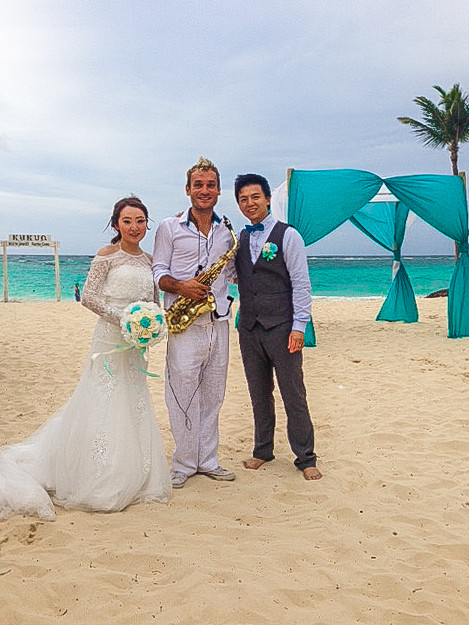 Kukua wedding venue in Punta Cana