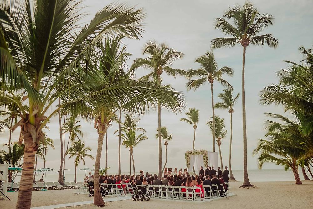 Pearl Beach Club Wedding ceremony