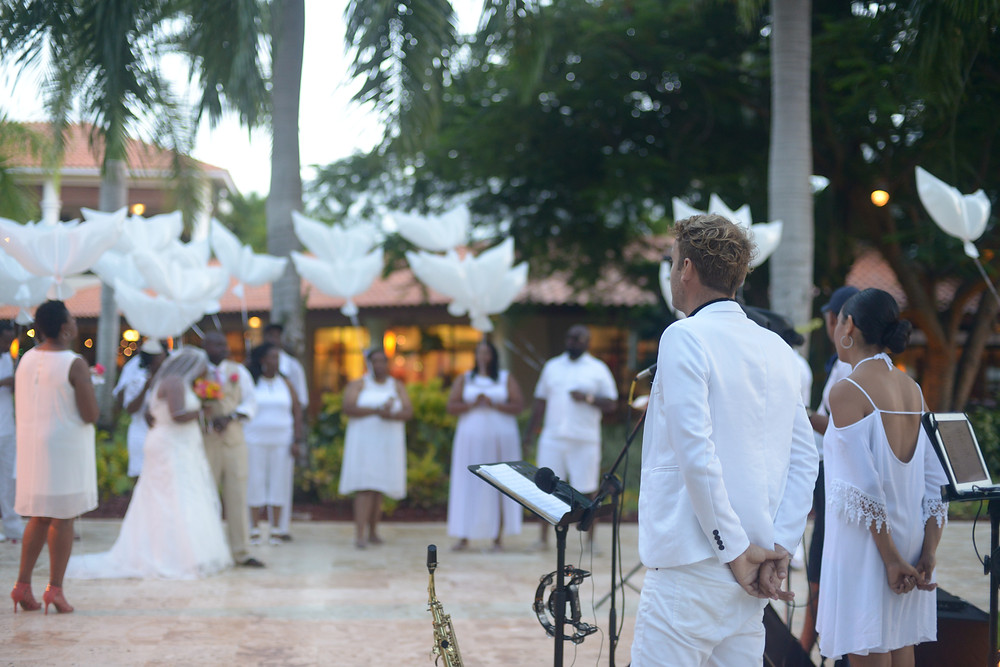 Punta cana wedding music band, Dreams Palm Beach Resort