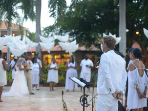 Wedding music band at Dreams Palm Beach Resort in Punta Cana