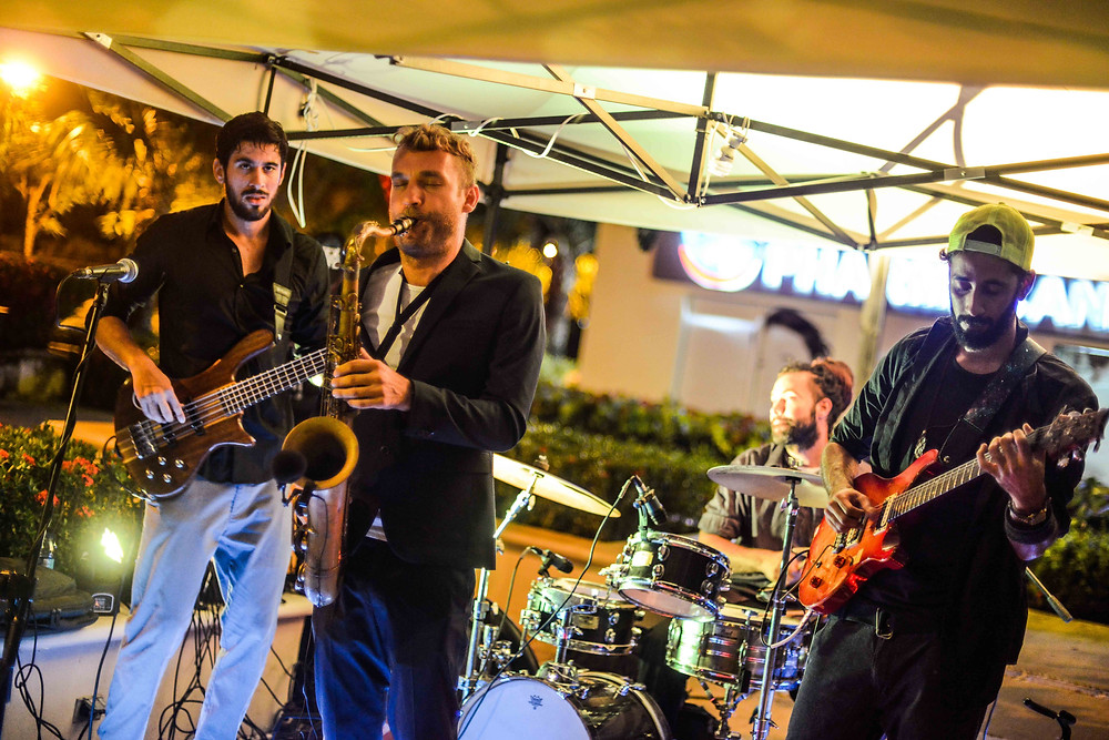 Jazz musicians in Dominican Republic, weddings and events