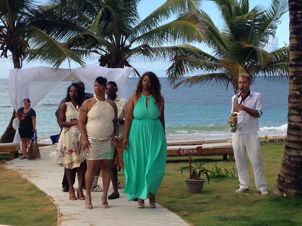 The Palms Punta Cana Wedding music (Uvero Alto)