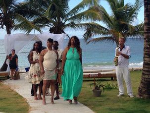 The Palms Punta Cana double Wedding-Two brides and two grooms