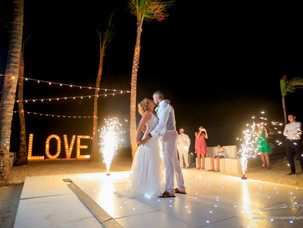 Punta Cana Wedding at Huracan Cafe -renovated 2018!