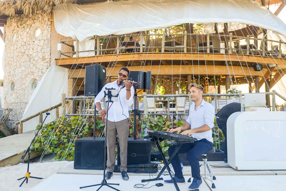Wedding at Jellyfish Punta Cana Violin and Piano