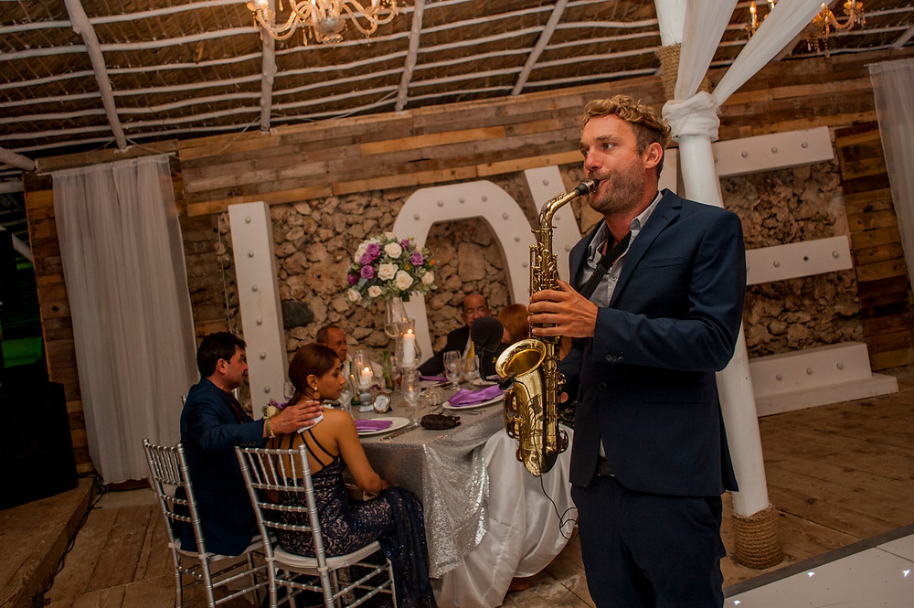Huracan Cafe Wedding venue by Punta Cana Live Music
