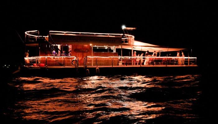 La Barcaza wedding and party boat