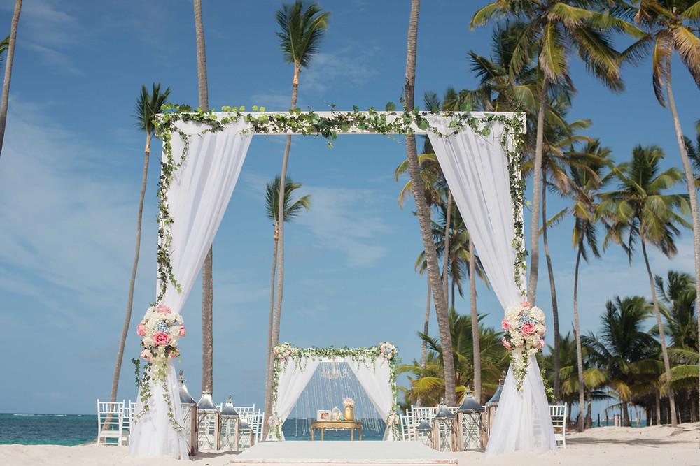 gazebo at Jellyfish Restaurant & wedding venue, Punta Cana