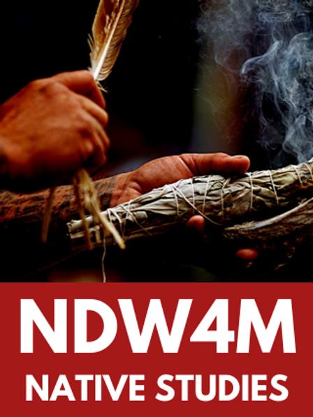 Native Studies-NDW4M