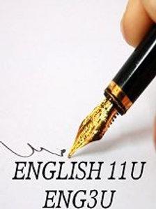 Grade 11 English-ENG3U