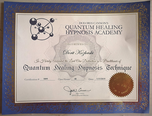 Quantum Healing Hypnosis Technique, QHHT Amsterdam, Level 1 QHHT Practitioner, higher self guidance, past life regression