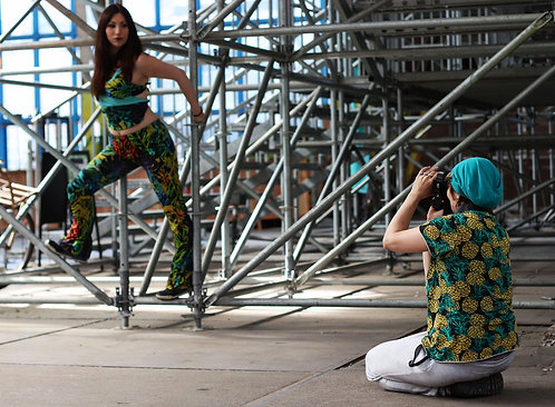 Brazil Yogini DURGA Stretch Tie Up Top Yoga Pants 1
