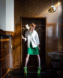 Luca Chiapatti photo, Model Sonia Lawicka, Restaurant Koevoet, Amsterdam