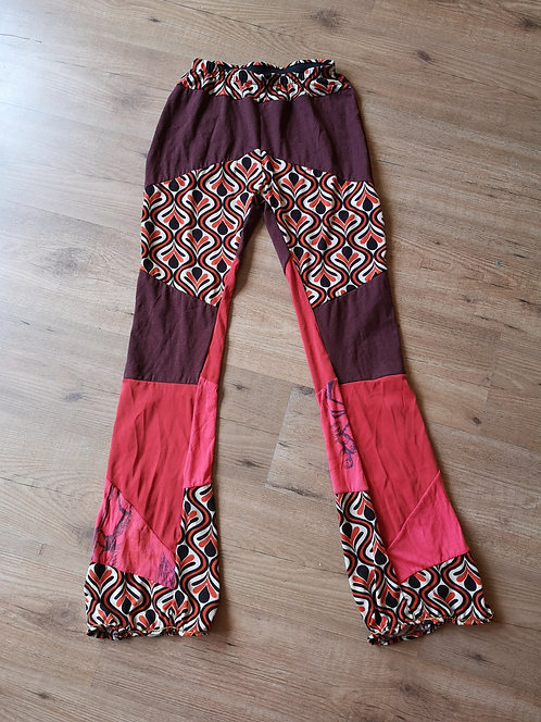 Ethnic DURGA Upcycled Cotton Yoga Pants 1