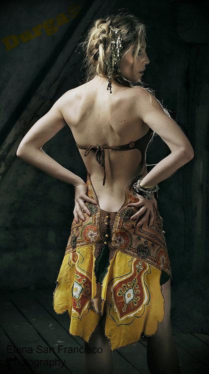 Durga Handcrafted Crochet Summer Goddess Dress