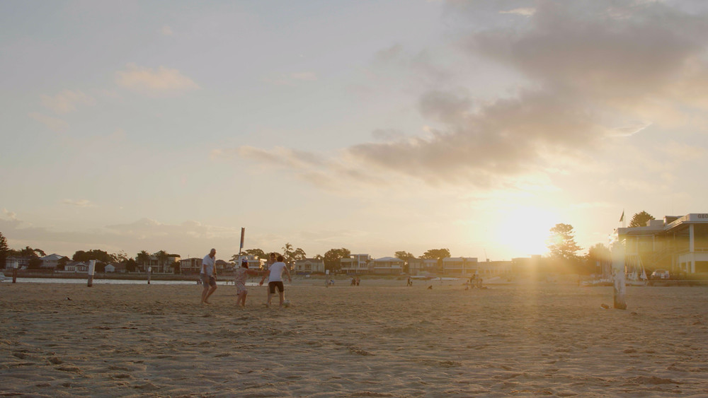 video production sydney, corporate video, cinematography, beach, sand, sunset