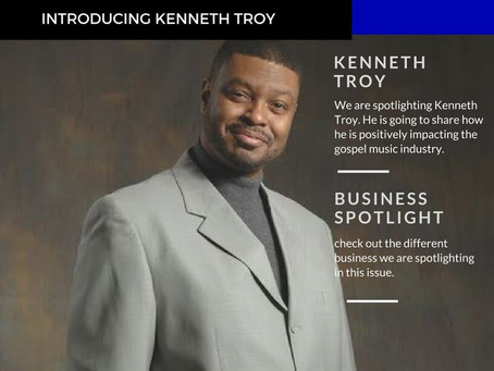 CEO Kenny Troy on GBIM Business Journal Front Cover
