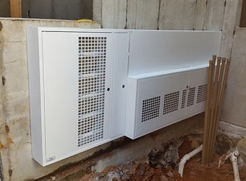 Caixa Coletiva para Medidores de Agua e Gas