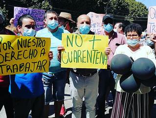 Alcalde Pinuer manifestó su molestia por continuación de estado de cuarentena para la comuna