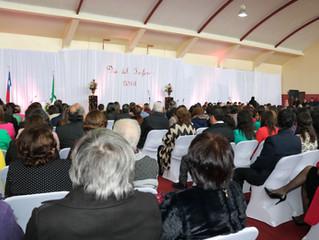 Con masiva ceremonia se celebró ayer, el Día del Docente y del Funcionario de la Educación