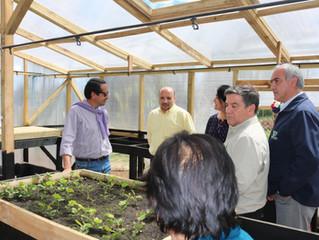 Alcalde participa en inauguración de vivero que aportará al cuidado de las cuencas