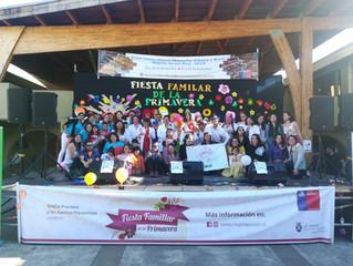 """Con gran éxito se realizó la """"3era Fiesta Familiar de La Primavera año 2018"""", en plaza de La Cultura"""