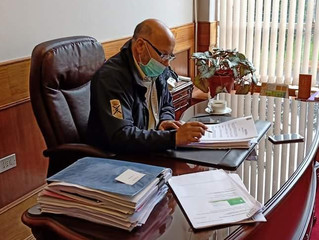 "Alcalde Pinuer por Cuarentena ""He solicitado que se reevalúe, porque no ha dado resultado"""