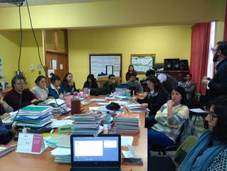 Con éxito se realiza Jornada de Sensibilización a docentes del Liceo Politécnico Werner Grob