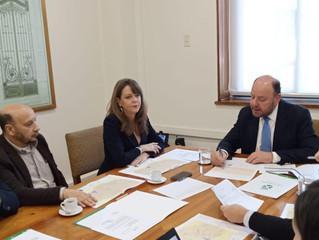 Alcalde Aldo Pinuer se reunió con Ministro de Obras Públicas a fin de plantear las necesidades más u