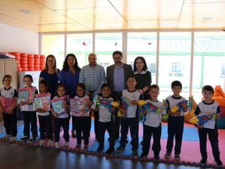 Municipio dio inicio a la entrega de regalos navideños en Colegio de Cultura