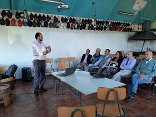 Alcalde manifestó su alegría ante RS de proyecto que dotará de agua potable a sector La Flor