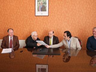Con presencia de alcalde Aldo Pinuer, se realizó entrega de títulos de dominio a Parroquia San José