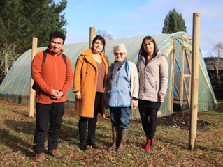 25 familias de la comuna cerraron programa de Autoconsumo