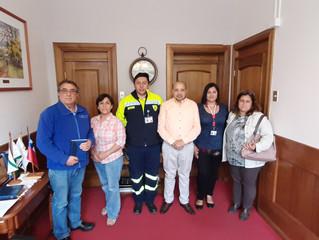 Alcalde recibe a multigremial con el fin de trabajar y acelerar proyecto de un nuevo hospital para l