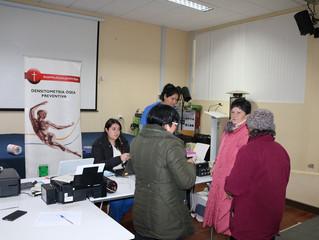 Más de 900 unioninos participaron de exitoso operativo de densitometría
