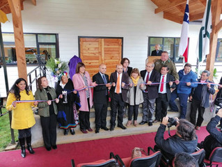 Alcalde inauguró establecimiento de larga estadía en sector Santa Elisa